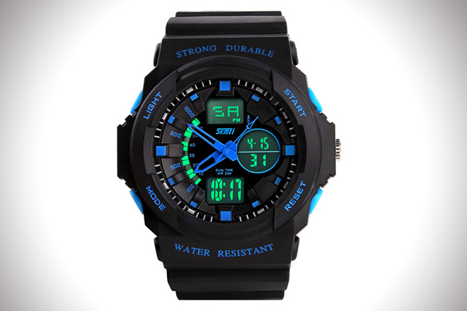 Sport timer wristwatches
