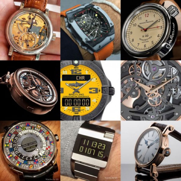 Instagram account of @watchesbysjx helpa you understand more about the hobby of collecting antique watches of the Asians