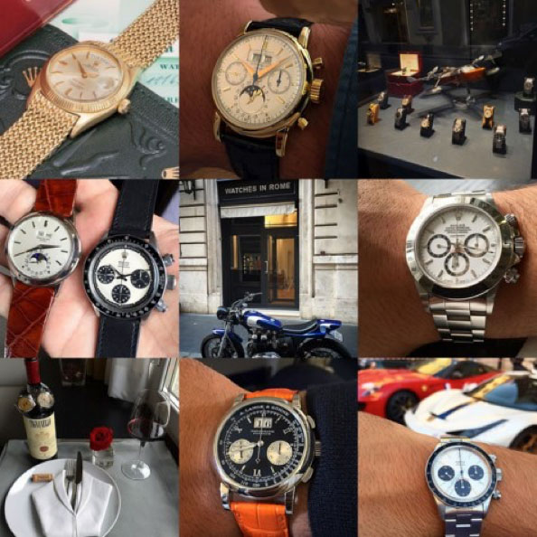 Instagram account of @marlondesimone will make you overwhelmed by the Italian luxury life