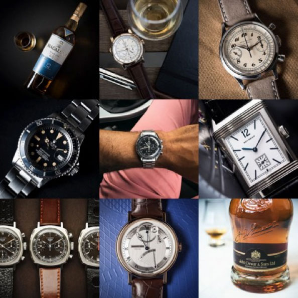 Instagram account of @Bexsonn brings pictures and information about the magic machine of luxury watches