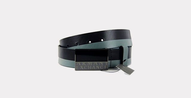 10.Ax-Armani-Exchange-Jeans-1-5-Eagle-Belt-Black-and-Grey-Leather
