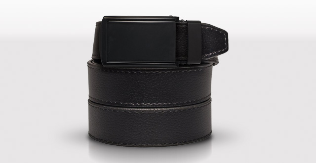 3.-SlideBelts-Men's-Matte-Black-Leather-Ratchet-Belt---Custom-Fit