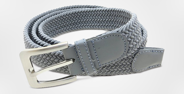 01.-Mens-Braided-Elastic-Stretch-Belt-Leather-Tipped-End-and-Silver-Metal-Buckle