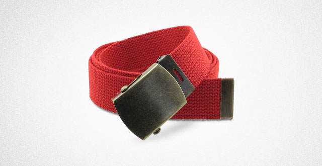 03.-Canvas-Web-Belt-Military-Style-with-Antique-Brass-Buckle-and-Tip-50-Long
