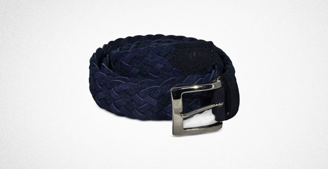 07.-Night-Blue-Rope-and-Suede-Leather-Belt-by-40-Colori