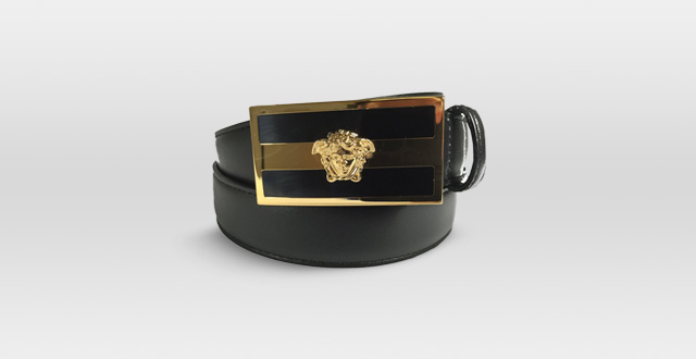 07.-Versace-Belt-Black-Leather-with-Gold-Medusa-Logo