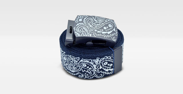 08.-AccMall-Mens-Canvas-Military-Bandana-Pattern-Web-Belt-&-Buckle-60-inches