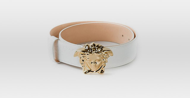 08.-Authentic-Versace-Medusa-Head-White-Leather-Belt