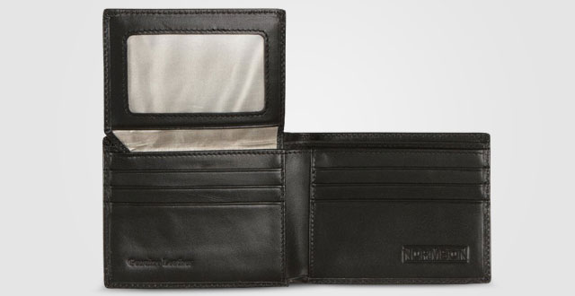 08.-Normson-Genuine-Leather-Wallet--RFID-Blocking-Stops-Credit-Card-and-Identity-Theft