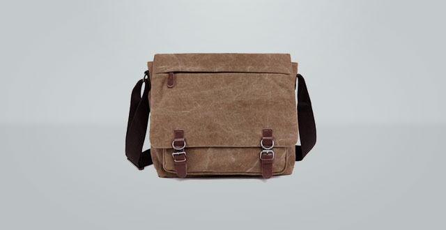 09.-Kenox-Vintage-Canvas-Laptop-Messenger-Bag-School-Bag-Business-Briefcase-16-Inches