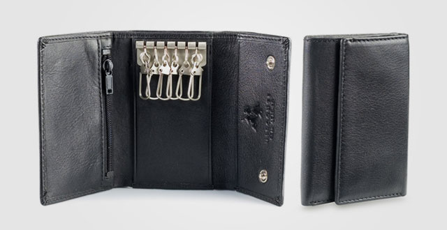 11.-Visconti-1178-Leather-Key-Case-Wallet---Key-Holder-Wallet--Coin-Purse