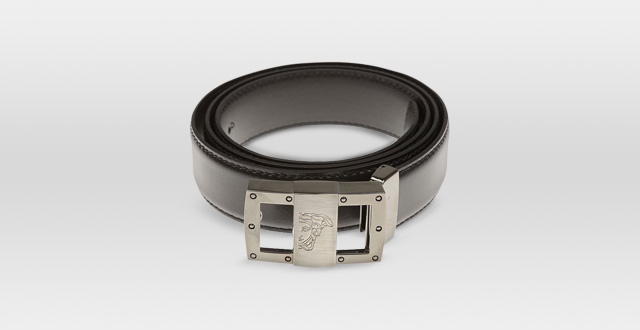 12.-Versace-Collection-Men's-Glossy-Leather-Medusa-Belt