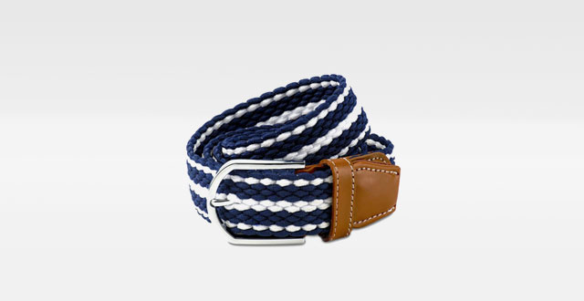 16.-Scott-Allan-Mens-Braided-Stretch-Cord-Dress-Belt---Navy-Blue