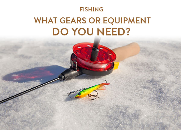 Fishing: What gears or equipment do you need?