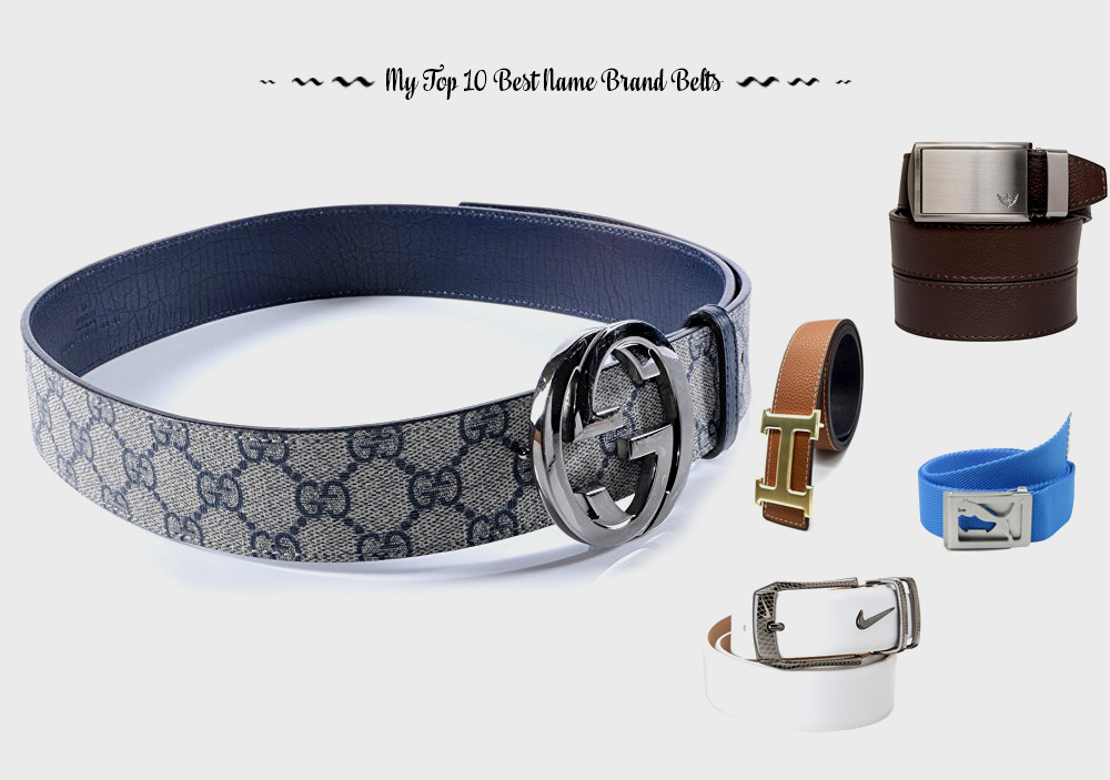 My Top 10 Best Name Brand Belts For Incredible Fit and ...