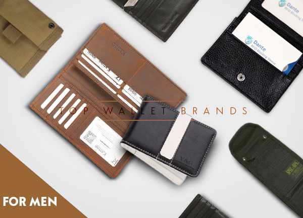 Top 12 Men Wallet Brands Review