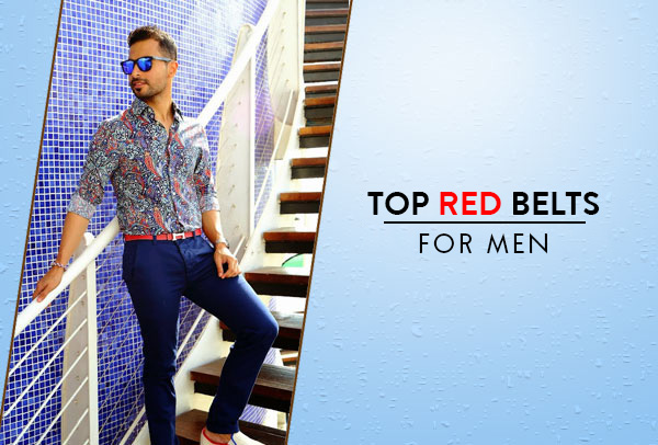 Top Red Belts For Men Review
