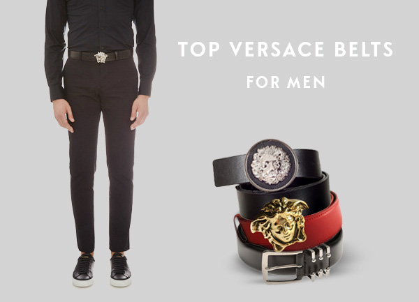 Top Versace Belts For Men
