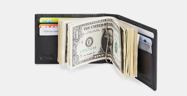 01.-Mens-RFID-Blocking-Leather-Wallet---Front-Pocket-Bifold-Wallet-With-Money-Clip