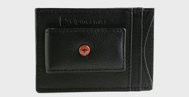 02.-Alpine-Swiss-Leather-Money-Clip-Magnetic-Front-Pocket-Wallet-Strong-Thin-Magne