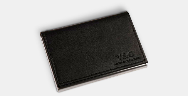 04 ydc05 best business card holder leather card - Best Card Holder Wallet