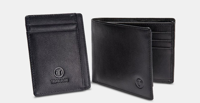 08.-RFID-Blocking-Leather-Wallet-Gift-Set-for-Men---Travel-Bifold-+-Front-Pocket-Wallet