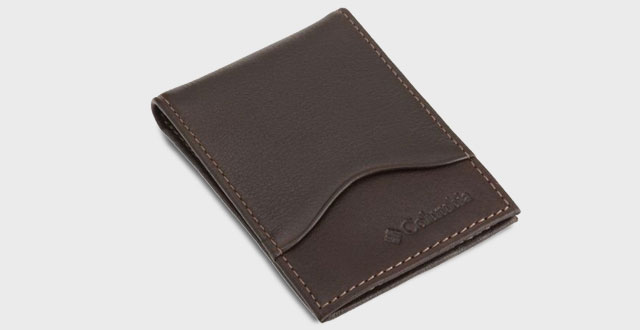 09.-Columbia-Mens-Leather-Front-Pocket-Wallet