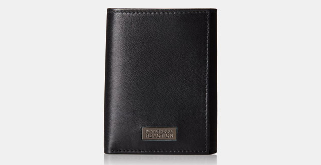 09.-Kenneth-Cole-Reaction-Mens-Sheepskin-Leather-Traveler-Trifold-Wallet