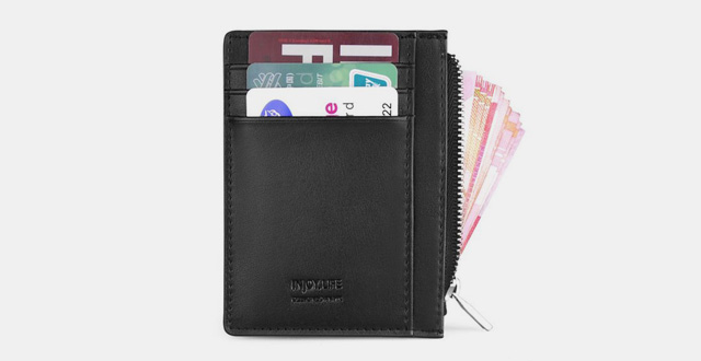 09-meku-slim-leather-front-pocket-wallet-credit-card-holder-with-8-card-slots-and-zipper