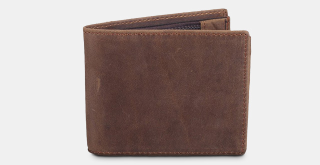 10-polare-mens-cowboy-genuine-natural-crazy-horse-leather-bifold-wallet