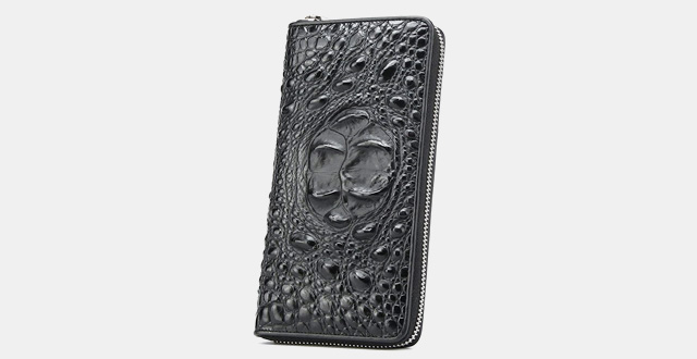 13-mt-mit-mens-long-business-crocodile-embossed-of-leather-card-case-and-money-clip-wallets