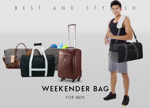 Best And Stylish Weekender Bag For Men