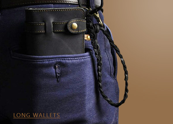 Popular long wallets for men and information about them