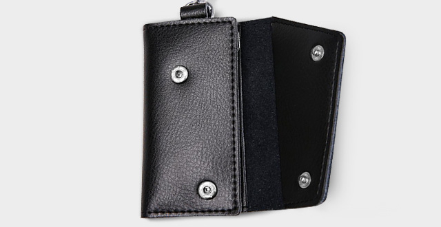 03-heshe-leather-key-case-wallets-unisex-keychain-key-holder-ring-with-6-hooks-snap-closure
