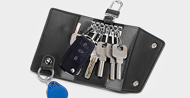05-lecxci-car-keychain-key-holder-bag-wallet-six-key-hook