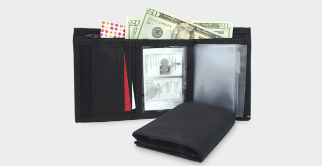 The Best Mens Nylon Trifold Wallet 42