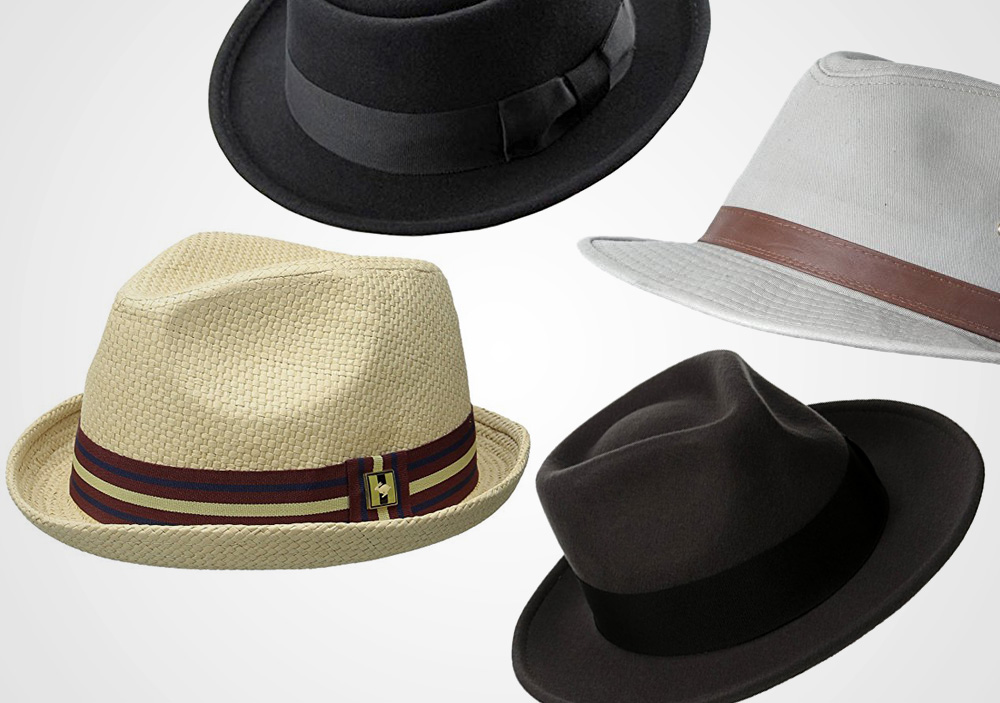 how to wear a fedora hat for men