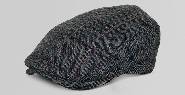 Men s herringbone wool tweed newsboy Ivy cabbie driving hat 7ed80aedd83