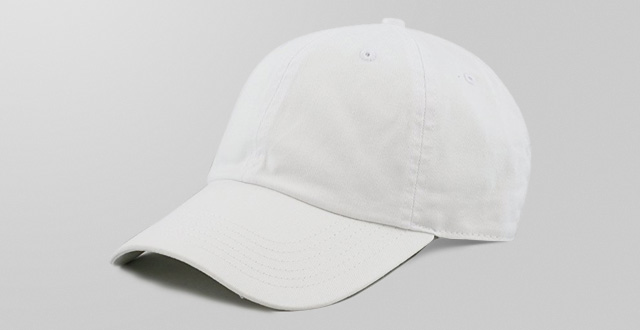 The hat depot 300N washed low profile cotton and denim baseball cap 34df9cc75ad