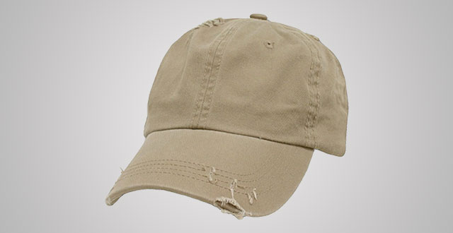 0d66ad1841a81 1. Decky Distressed Vintage Polo Style Low Profile Baseball Cap