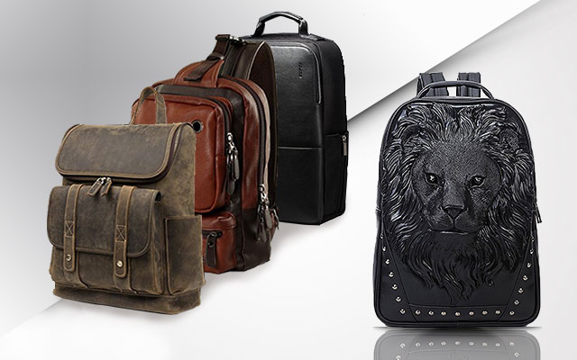 Backpacks for men can be made from a wide range of materials such as leather  and canvas. However 3353df114f10