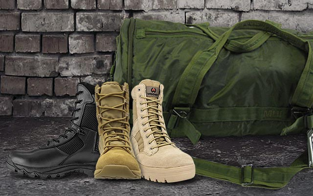 401b4367cee Best Military Boots For Men - Cool Men Style 2019