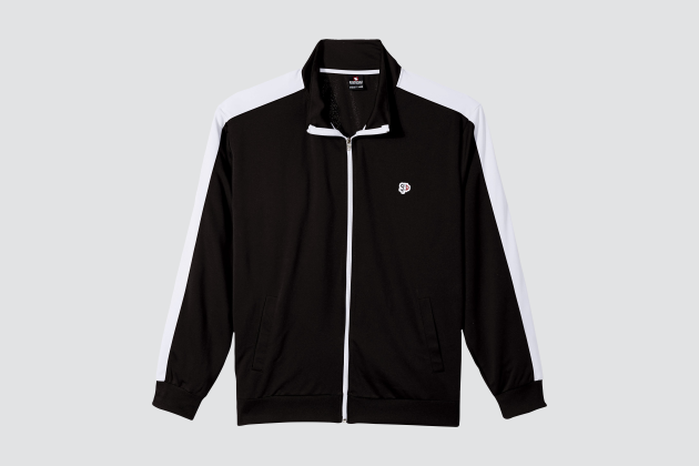 Southpole Mens Full-Zip Athletic Track Jacket