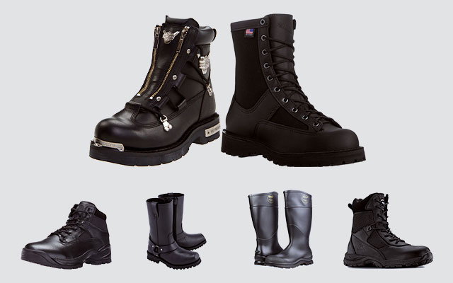 1238b2560 Best Solid And High-Performance Black Boots For Men - Cool Men Style ...
